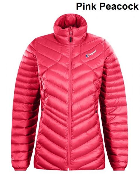 Berghaus Womens Tephra Down Insulated Jacket - Warm - Windproof